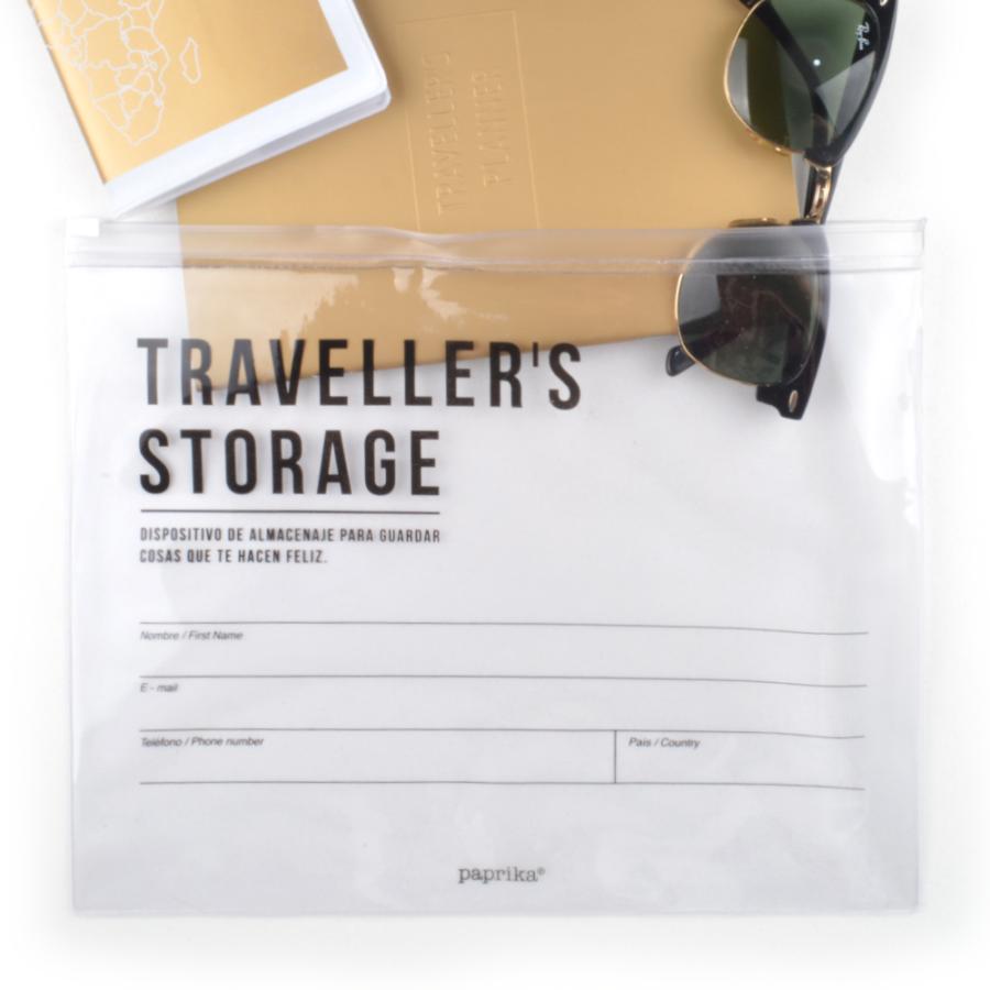Bolsa reutilizable para viajes